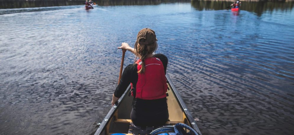 Canot-Camping & intro au portage